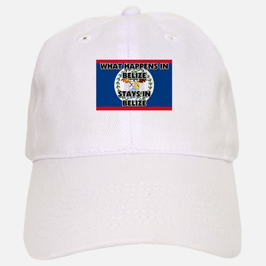 What Happens In BELIZE Stays There Baseball Baseball Cap