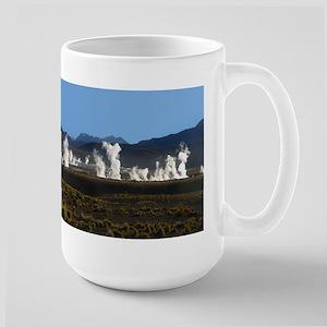 """""""Geysers El Tatio""""  Large Mug"""