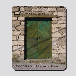 """""""Doorway in Toconao"""" Mousepad"""