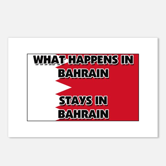 What Happens In BAHRAIN Stays There Postcards (Pac