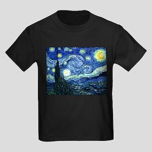 Starry Night Kids Dark T-Shirt
