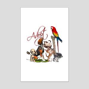 Adopt a Pet Mini Poster Print
