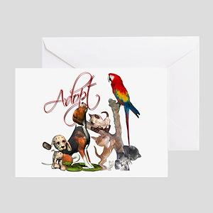 adopt a pet greeting card - Humane Society Christmas Cards