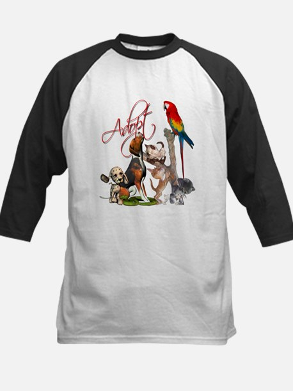 Adopt a Pet Kids Baseball Jersey