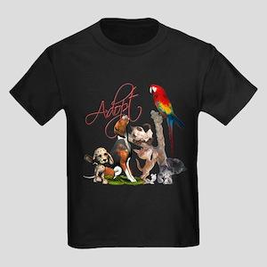 Adopt a Pet Kids Dark T-Shirt