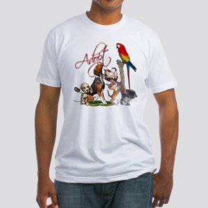 Adopt a Pet Fitted T-Shirt