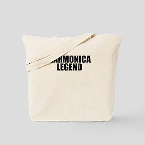 Harmonica Legend Tote Bag