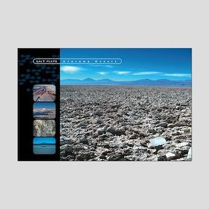 San Pedro de Atacama Salt Flats Mini Poster Print