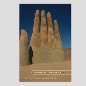 Mano de Desierto (Hand in desert( Postcards (8)