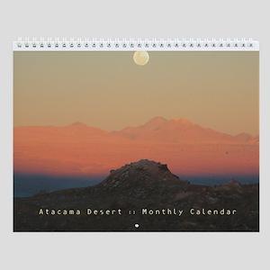 Atacama Desert, Chile (San Pedro)  Wall Calendar
