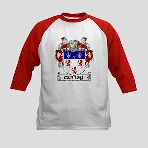 Carney Coat of Arms Kids Baseball Jersey
