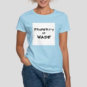 Property of Wade Women's Pink T-Shirt