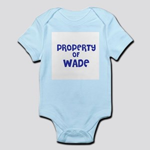 Property of Wade Infant Creeper