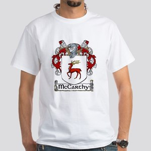 McCarthy Coat of Arms White T-Shirt