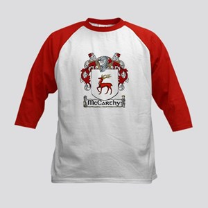 McCarthy Coat of Arms Kids Baseball Jersey