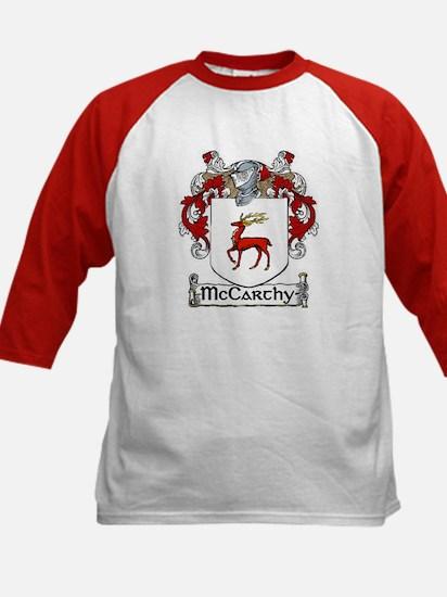 McCarthy Coat of Arms Kids Baseball Jersey