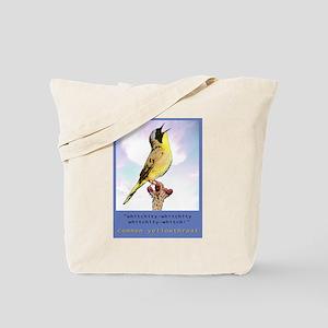 yellowthroat Tote Bag