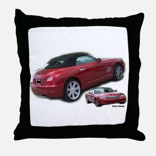 Crossfire 2I Throw Pillow