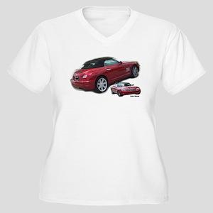 Crossfire 2I Women's Plus Size V-Neck T-Shirt