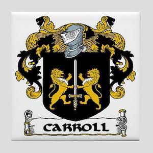 Carroll Coat of Arms Tile Coaster