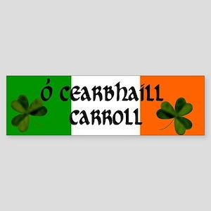 Carroll Coat of Arms Sticker (Bumper)