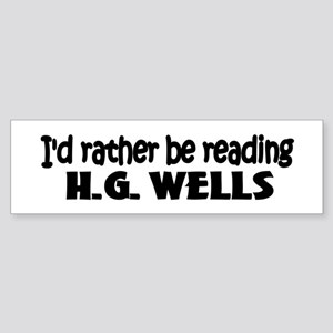 H.G. Wells Bumper Sticker