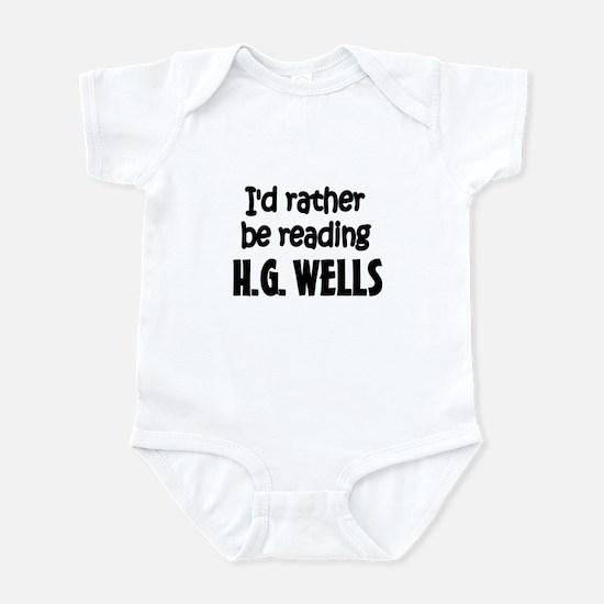 H.G. Wells Infant Bodysuit