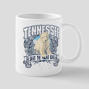 Polar Bear Tennessee Mug