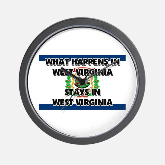 What Happens In WEST VIRGINIA Stays There Wall Clo