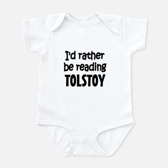 Tolstoy Infant Bodysuit