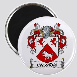 """Cassidy Coat of Arms 2.25"""" Magnet (10 pack)"""