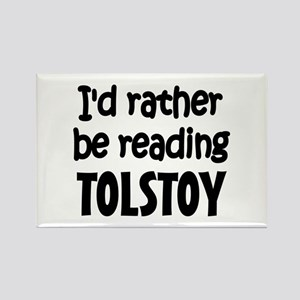 Tolstoy Rectangle Magnet
