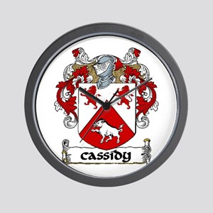 Cassidy Coat of Arms Wall Clock