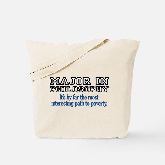 Major in Philosophy Tote Bag