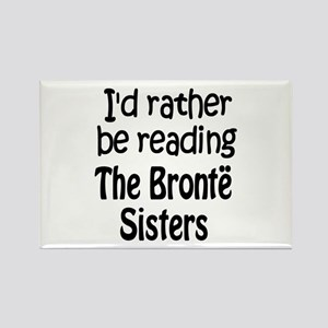 Bronte Sisters Rectangle Magnet
