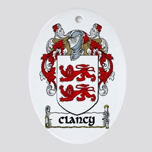 Clancy Coat of Arms Ornament (Oval)