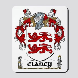 Clancy Coat of Arms Mousepad