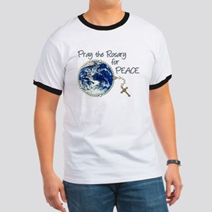 Pray the Rosary for Peace Ringer T