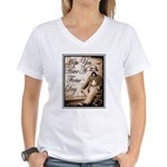 Have a Firme Day Women's V-Neck T-Shirt