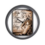 Have a Firme Day Wall Clock