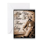 Have a Firme Day Greeting Cards (Pk of 10)