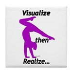 Gymnastics Tile Coaster - Visualize