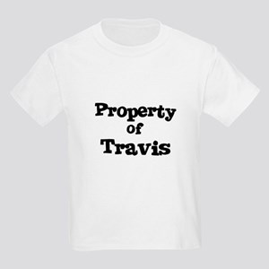 Property of Travis Kids T-Shirt