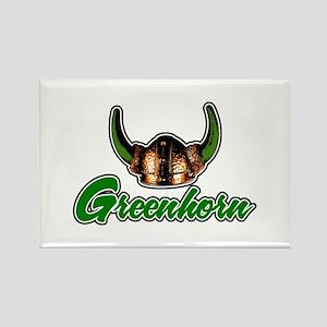Greenhorn Rectangle Magnet (10 pack)