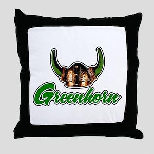 Greenhorn Throw Pillow