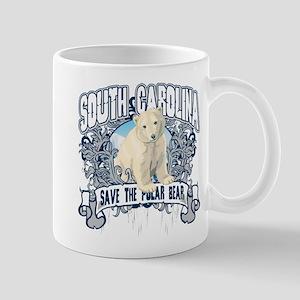 Polar Bear South Carolina Mug