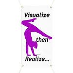 Gymnastics Banner - Visualize