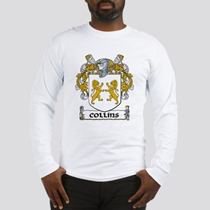 Collins Coat of Arms Long Sleeve T-Shirt