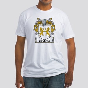 Collins Coat of Arms Fitted T-Shirt