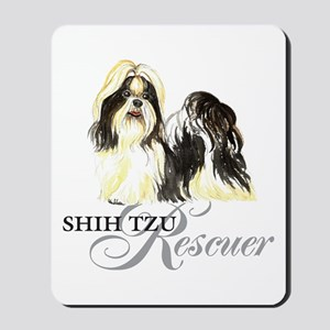 Shih Tzu Rescue Mousepad